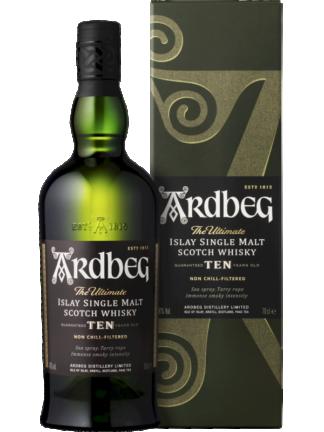 Ardbeg 10 Year Old Islay Single Malt Whisky
