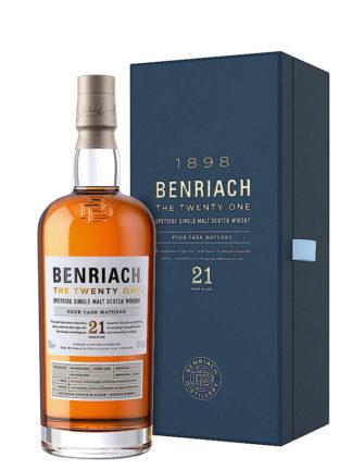 BenRiach The Twenty One 21 Year Old Single Malt Whisky