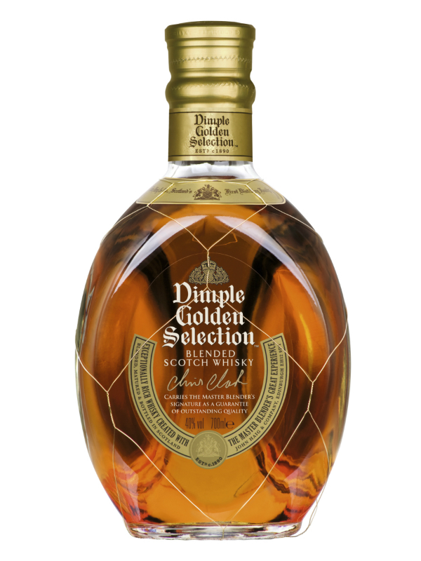 Buy Dimple Pinch Red Ceramic Decanter 15 Year Old Online: Dimple Golden Selection Blended Scotch Whisky