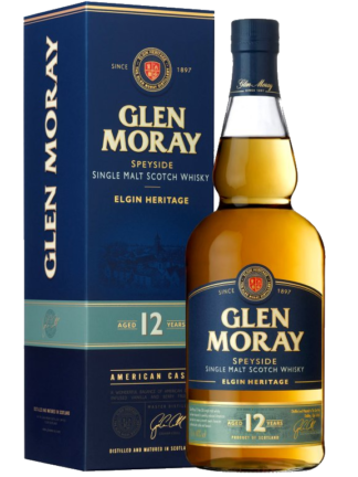 Glen Moray 12 Year Old Elgin Heritage Speyside Single Malt Scotch Whisky