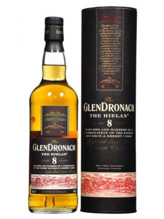 GlenDronach The Hielan 8 Year Old Single Malt Whisky