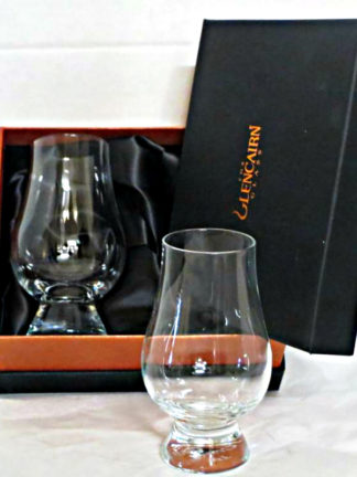 Glencairn Crystal Whisky Glass by 2 In Delux Presentation Box