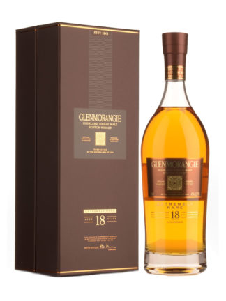 Glenmorangie 18 Year Old Extremely Rare Single Malt Whisky
