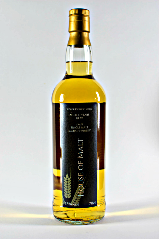 Review of House of Malt Islay 10 by @GentlemanGrimm