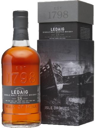 Ledaig 18 Year Old Single Malt Whisky From the Isle of Mull