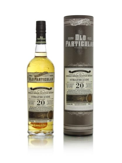 Old Particular Strathclyde 20 Year Old Single Grain Whisky