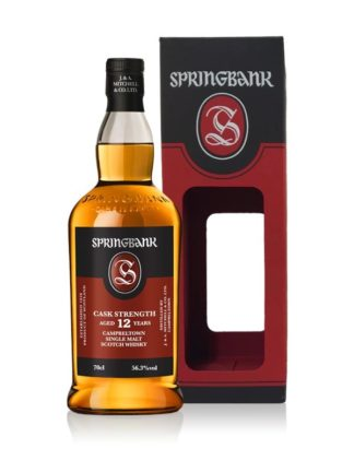 Springbank 12 Year Old Cask Strength 2018 Release