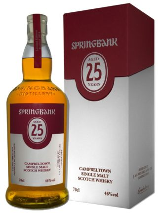 Springbank 25 Year Old 2018 Single Malt Whisky