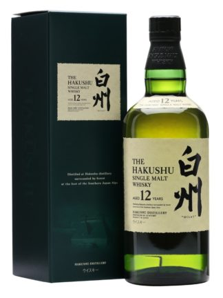 Suntory Hakushu 12 Year Old Single Malt Japanese Whisky