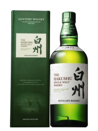 Suntory Hakushu Distiller's Reserve Single Malt Japanese Whisky