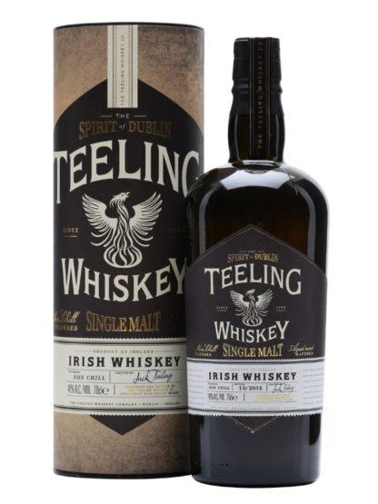 Teeling Single Malt Spirit of Dublin Irish Whiskey