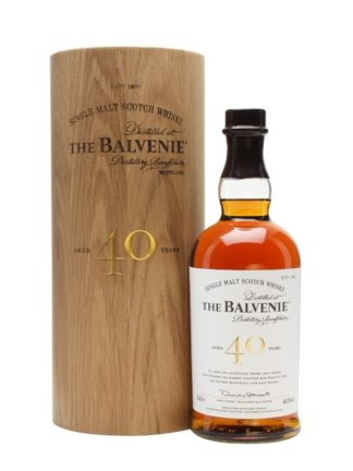 The Balvenie 40 Year Old Speyside Single Malt Whisky