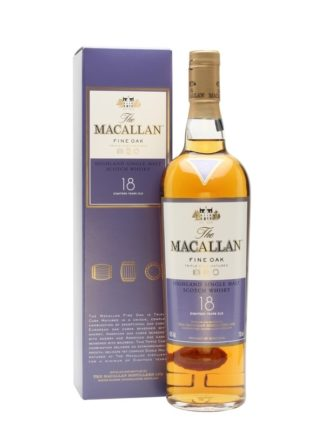 The Macallan 18 Year Old Fine Oak Highland Single Malt Whisky