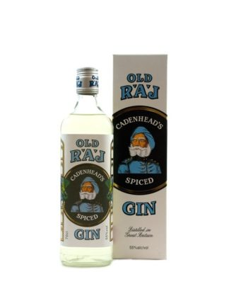 WM Cadenhead Old Raj Spiced Gin 55%