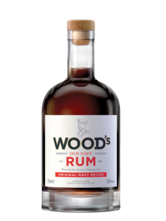 Wood's 100 Old Navy Dark Rum