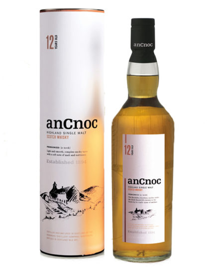 anCnoc 12 Year Old Single Malt Whisky