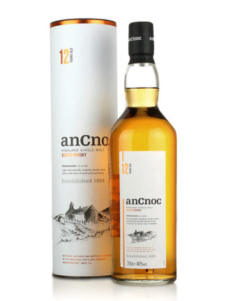 AnCnoc 12yo Highland Single Malt Scotch Whisky