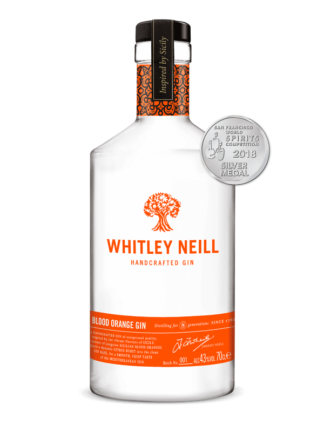 whitly niell blood orange gin