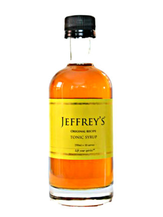 Jeffrey's Original Recipe Tonic Syrup