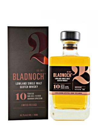 Bladnoch 10 Year Old Bourbon Cask - Limited Release