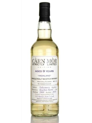 Càrn Mòr Tobermory 9 Year Old 2009 - Strictly Limited
