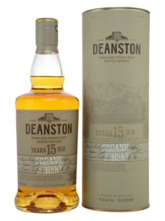 Deanston 15 Year Old Organic Highland Single Malt Whisky