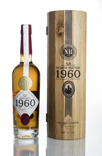 North British 58 Year Old Single Grain Scotch Whisky