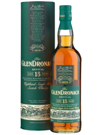 GlenDronach 15 Year Old Revival 2018 Edition Single Malt Whisky