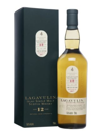 Lagavulin 12 Year Old Cask Strength Single Malt Whisky