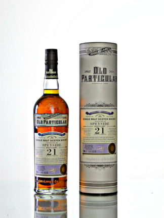 Speyside 21 Year Old, Douglas Laing Old Particular DL12614
