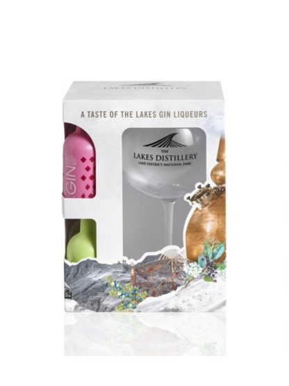 The Lakes Baloon Gin Glass Gift Pack