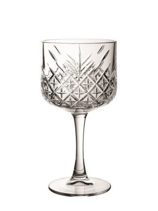 Timeless Vintage Cut Gin Glass