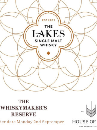 The Lakes Distillery Whiskymaker's Reserve No.1 Single Malt Whisky First Edition