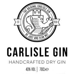 Carlisle Gin Distilled in Carlisle Logo