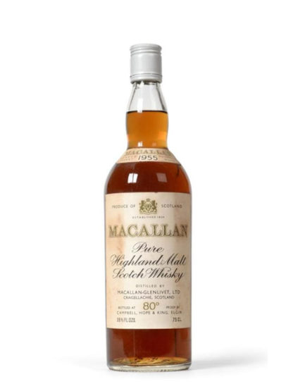 Macallan 1955 Hope and King Vintage Whisky