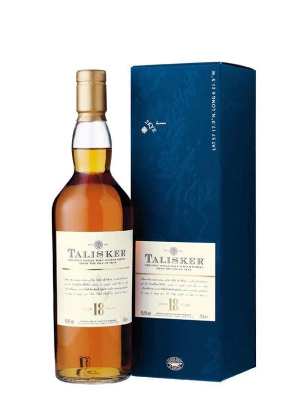 Talisker 18 Year Old Single Malt Whisky   House of Malt