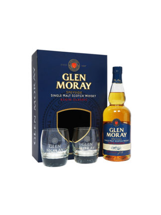 Glen Moray Classic Gift Pack Single Malt Whisky