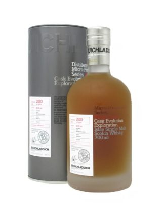 Bruichladdich 2003 14 Year Old BourbonCalvados Bottle 313
