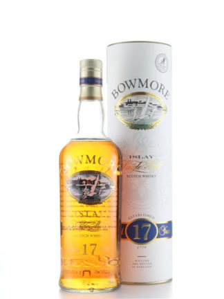 Bowmore 17 Year Old Rare Printed Label