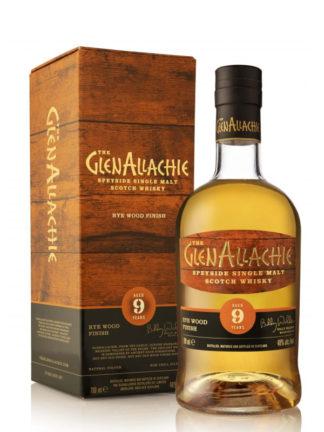 GlenAllachie 9 Year Old Rye Wood Finish Single Malt Whisky