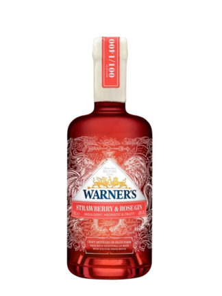 Warner's Strawberry & Rose Gin