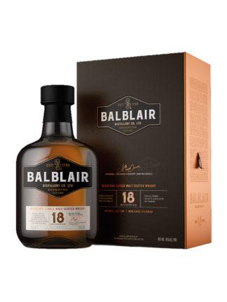 Balblair 18 Year Old Highland Single Malt Whisky