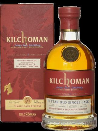 Kilchoman 13 Year Old Single Cask