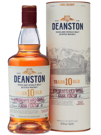 Deanston 10 Year Old Bordeaux Red Wine Cask Single Malt Whisky