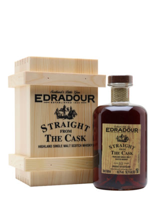 Edradour 10 Year old SFTC 56.7% Single Malt Whisky