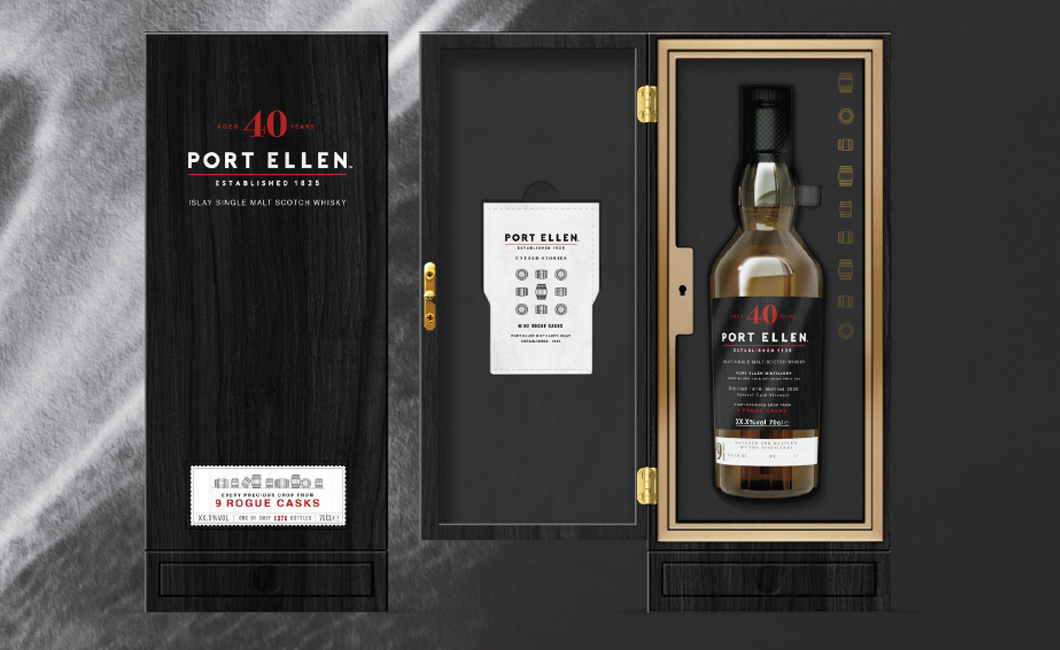 Port Ellen 40 Year Old 9 Rogue Casks Whisky