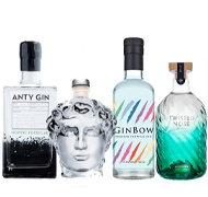 View Our Range of Delicious Gins, Gin Liqueurs, Flavoured Gins and Much More
