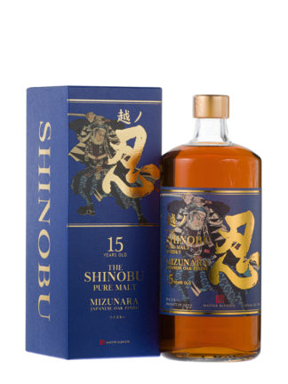 The Shinobu 15 Year Old Japanese Whisky