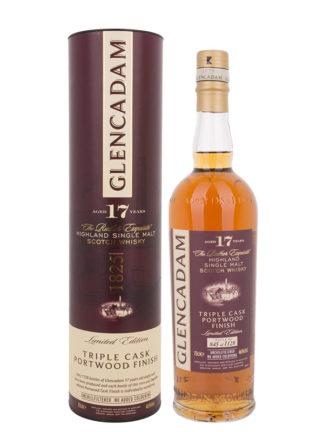 Glencadam Portwood Finish 17 Year Old Single Malt Whisky