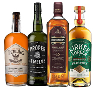See Our Range of Irish Malts, Triple Distilled and Ready to Make Your Palate Dance!